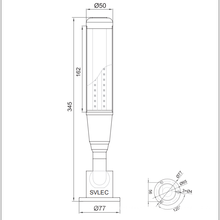 LED  signal tower light with buzzer