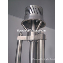 Misturador de emulsão a vácuo de aço inoxidável