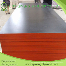 Construction Grade Poplar Black Brown Color 15mm Film Faced Plywood