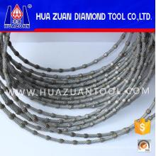 Diamond Wire Saw for Granite Cutting, Sand Stone Cutting, Profiling