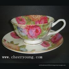Kaffee-Tasse und Untertasse (CY-B532)