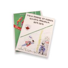 Impressão de papel offset de cartão Livro de crianças customizadas