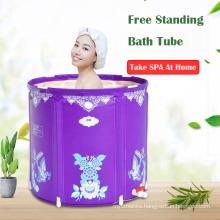 Portable free standing bathtub Adult inflatable pool