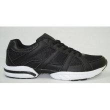 chaussures de course de sport pour hommes noirs