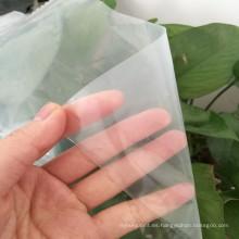 Material vegetal 100% nuevo proteger la película de efecto invernadero con bloque UV