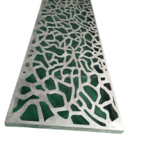 Laser Cut Perforated Decorative House Cladding