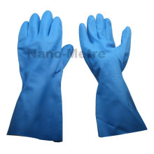 NMSAFETY 13mil unline Blue nitrile industrial glove