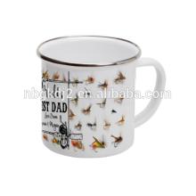 Im Freienzahn-Kaffeetasse-Zinn-Geburtstags-Geschenk mit Soem-Entwurf