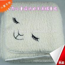 fábrica de manta de alta calidad lana super suave bebé