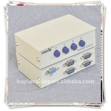 DB9 9-pin Serial RS-232 4 Port ABCD Switch Adapter Box