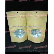 sacos de papel estéreis / saco de papel ziplock de papel / lágrima norte papel-fundo saco de reforço