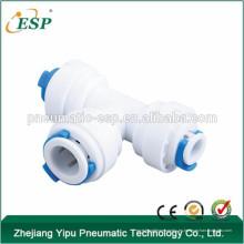 Conectores de rama ESP T accesorios de agua de PVC accesorios de tubería de codo de 3 vías