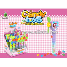 heart shape fan candy toys
