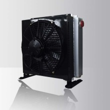 Refroidisseur d'huile hydraulique de ventilateur de plat de barre de CC