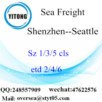 Shenzhen Port LCL Consolidation To Seattle