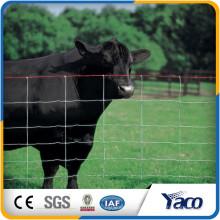 A maioria dos animais de segurança evitam os painéis usados para cercas de cavalo