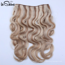 Remy Virgin Indian Micro Halo Best Flip In Hair Extension Vendor