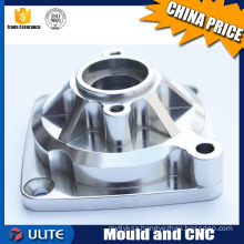 CNC Milling Stainless Steel 303 Square Mount Manifold Block Nut