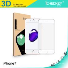 Protecteur d'écran haut de gamme en verre trempé anti-explosion 3D pour Iphone7