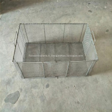 Panier de rangement en fil métallique pour cuisine / garde-manger / armoire