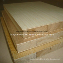Wooden Grain Color Melamine Blockboard for Wordrobe