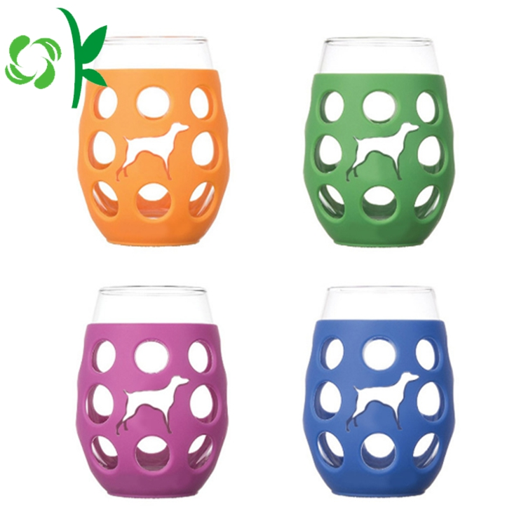 Silicone Sleeve For Glass Cup