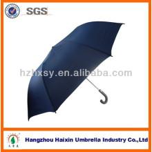 Wood Handle Auto Open 2 Fold Umbrella