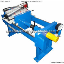 Manual Hydraulic Filter Press,Small Size Manual Operation Chamber Filter Press Designed by Leo Filter Press