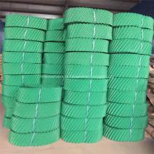 Bloco de preenchimento redondo em PVC resistente ao calor da torre de resfriamento