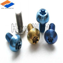 high quality GR5 titanium water bottle screw M5*10