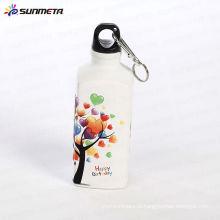 Сублимация Спорт бутылки с водой Площадь Форма 500ML