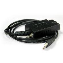 ELM327 USB с переключатель автомобилей ECU сканера