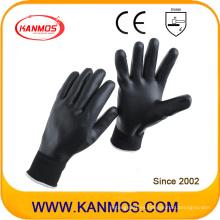 15gauges guantes de trabajo de seguridad industriales Nitrilo Nylon revestidos (53304NL)