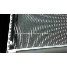 Placa acrílica do difusor da placa acrílica acrílica da placa da placa acrílica