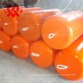 XINCHENG Marca Fábrica de fabricação profissional marinha espuma de Poliuretano fender borracha coberta usado para o navio e docas