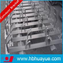 Support en caoutchouc de rouleau de convoyeur de bâti, support en acier pour des convoyeurs