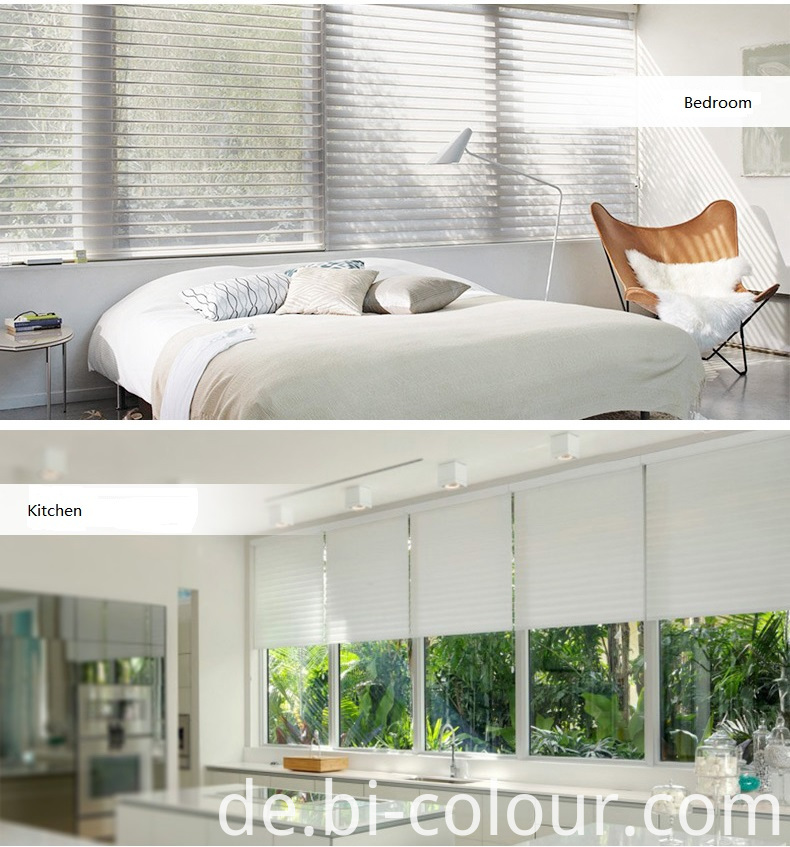 Remote Control Window Sheer Blind