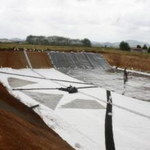 Revestimiento de HDPE de 30mils / revestimiento de estanque para granja de camarones