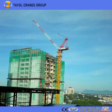 2ton Derrick / Luffing Tower Kran Qtd3020 Top Slewing Tower Crane