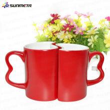 11oz sublimation blank lovers magic mug