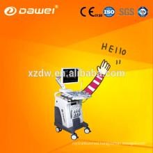 CE & ISO 3D color doppler C80 Dawei & trolley 2D laptop ultrasound scanner for pregnancy and fetus liver kidney