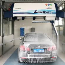 Lavado de coches de alta presión sin contacto. Lavado leisu 360.