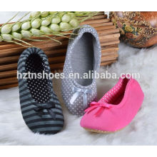 2016 Winter women shoes bowtie front wholesale cheap price indoor slipper ballerina styles