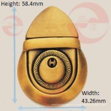 Bolso de metal Proveedor Fabricación Big Bellied Push Lock