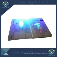 UV Invisible Watermark Anti-Counterfeiting Zertifikat Druck