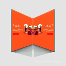 Edgelight AF18C Slim Advertising Decoration Aluminum Frame Fabric Light Box