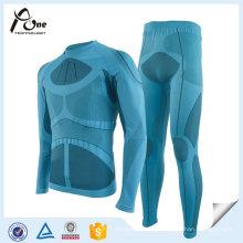 Ensembles de sous-vêtements de couche thermique de sous-vêtements de ski en plein air