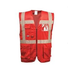 En471 Yellow High Visibility Safety Vest, Фабрика в Нинбо, Китай