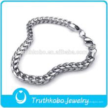 TKB-JN0041 Cadena de los hombres del collar de plata 316L de alta calidad exquisita en material de acero inoxidable Joyería DongGuan Truthkobo