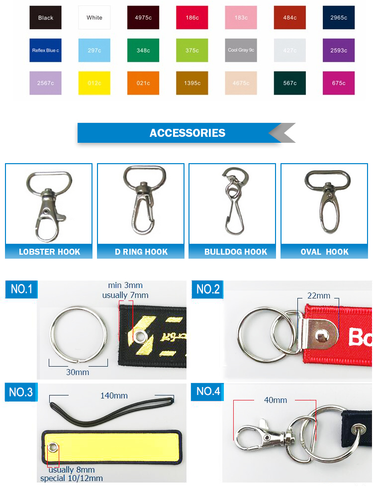 keyring accessories